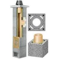 Керамический дымоход Schiedel базовый комплект одноходовой без вентиляции.