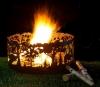 """Кованая костровая чаша для огня """"Лесные просторы"""""""